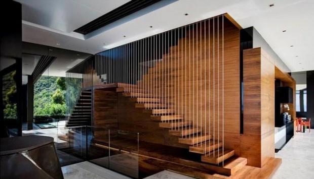 Xu hướng thời thượng của cáp cầu thang gỗ