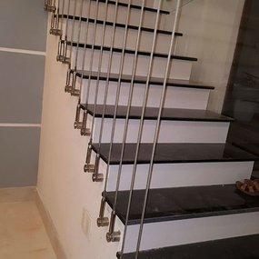 Thi công lắp đặt cáp cầu thang tại quận Hoàng Mai